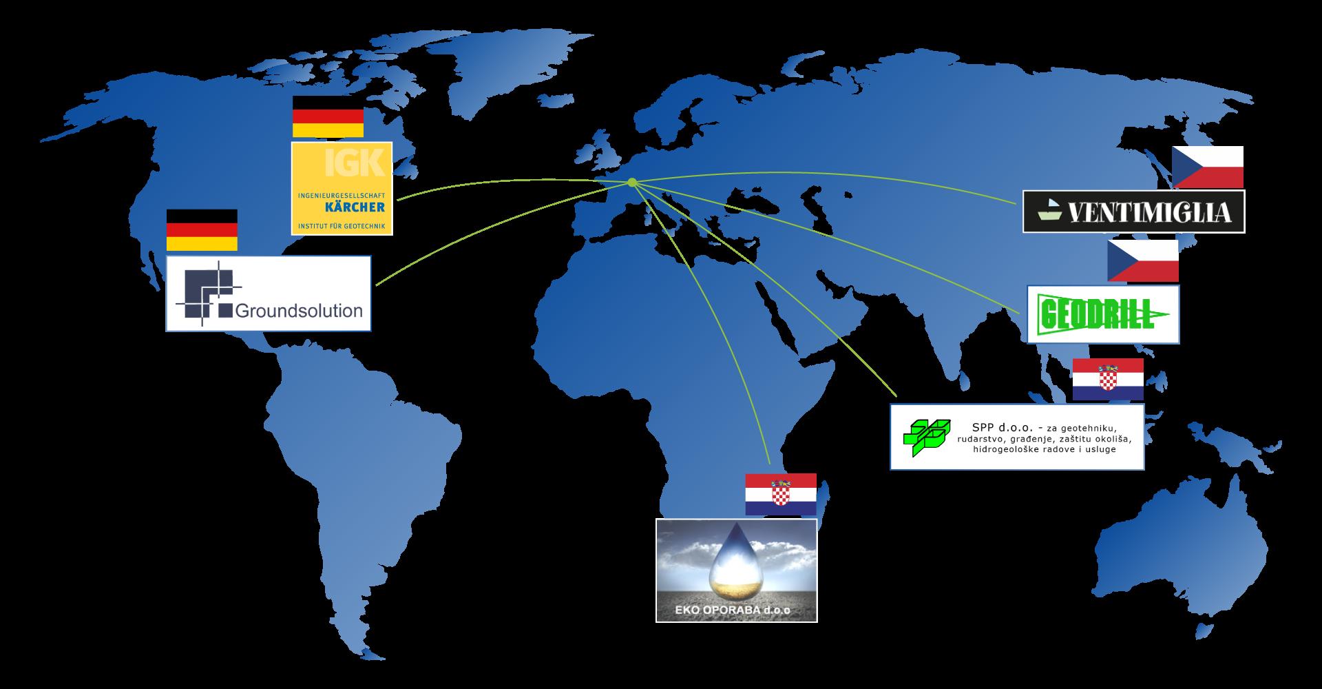 Unsere Partner Weltweit